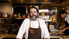 Chiltern Firehouse chef Nuno Mendes by Nicholas Kay