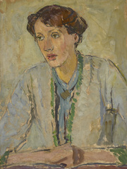 Virginia Woolf by Vanessa Bell - Courtesy Henrietta Garnett. Photo: National Trust