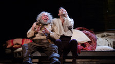 Henry IV (Part I) - Antony Sher (Sir John Falstaff) and Alex Hassell (Prince Hal) by RSC