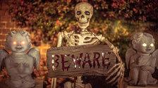 Pop-Up Screens Halloween Cinema