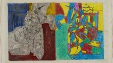 Jasper Johns - Jasper Johns, Study for Regrets, 2012