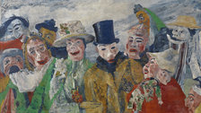 Intrigue: James Ensor by Luc Tuymans - James Ensor, The Intrigue, 1890 (c) Royal Museum for Fine Arts Antwerp