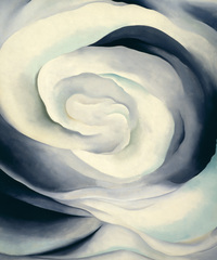 Georgia O'Keeffe - Abstraction White Rose, 1927 by Georgia O'Keeffe Museum