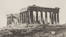 Salt And Silver: Early Photography 1840-1860 - Eugene Piot, The Parthenon from the Acropolis by Wilson Centre for Photography