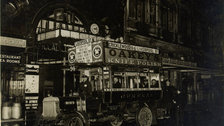 Night Shift, 24 hour tube from Friday 11th September - First night bus outside Piccadilly station, 1913