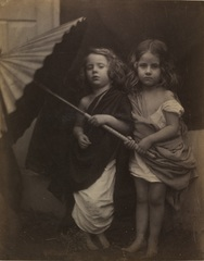 Julia Margaret Cameron - Paul and Virginia, Julia Margaret Cameron 1864 (c) Victoria and Albert Museum London