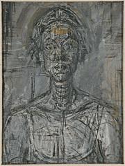 Giacometti: Pure Presence  - Bust of Annette by Alberto Giacometti 1954 Private Collection (c) Alberto Giacometti