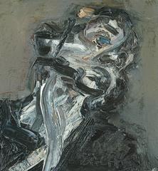 Frank Auerbach, Head of J.Y.M II, 1984-85 - (c) Frank Auerbach