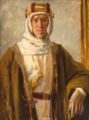 Artist and Empire - Augustus John, Colonel T.E. Lawrence 1919 (c) Tate