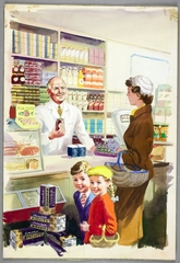 Ladybird by Design - Shopping with Mother, 1958