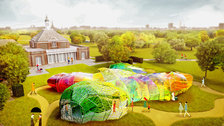 Serpentine Pavilion designed by SelgasCano, CGI by Steven Kevin Howson / SelgasCano