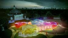 Serpentine Pavilion by SelgasCano, CGI - (c) Steven Kevin Howson / SelgasCano