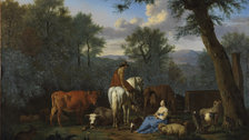 Adriaen van de Velde: Master of the Dutch Golden Age - Landscape with Cattle and Figures (c)Fitzwilliam Museum, Cambridge