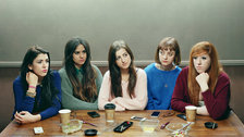 Taylor Wessing Photographic Portrait Prize - Five Girls 2014 by David Stewart by David Stewart