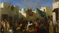 Delacroix and the Rise of Modern Art - Eugene Delacroix, Convulsionists of Tangier, 1837-8 (c)Minneapolis Institute of Art