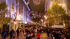 Seven Dials Christmas Lights and Shopping Evening