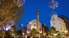 Seven Dials and St Martin's Courtyard Shopping Evening