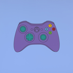 Michael Craig-Martin: Transience - Untitled (xbox control) 2014 (c) Michael Craig-Martin by Mike Bruce