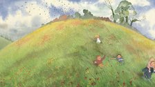 Easter Family Fun in London - We're Going on a Bear Hunt book illustration