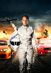 The London Motor Show - Ben Collins, also known as The Stig