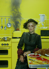 Oil - Anne-Marie Duff photographed by Miles Aldridge