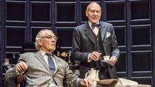 No Man's Land - Ian McKellen as Spooner, Patrick Stewart as Hirst. Photo: Johan Persson