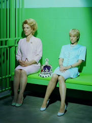 Mary Stuart - Juliet Stevenson and Lia Williams photographed by Miles Aldridge