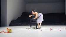 Tanztheater Wuppertal Pina Bausch: Masurca Fogo - Ruth Amarante in Masurca Fogo. Photo: Zerrin Aydin-Herwegh