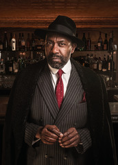 Lenny Henry stars in The Resistible Rise Of Arturo Ui