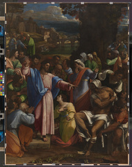 Michelangelo & Sebastiano - Sebastiano del Piombo, The Raising of Lazarus (c) The National Gallery, London