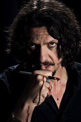 Jay Rayner: A Night Of Food and Agony - Photo by Levon Biss