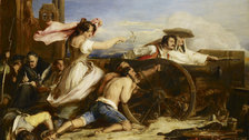 Scottish Artists 1750-1900: From Caledonia to the Continent - Sir David Wilkie, The Defence of Saragossa, 1828