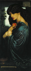 Painting with Light - Dante Gabriel Rossetti 1828-1882. Tate. Presented by W. Graham Robertson 1940