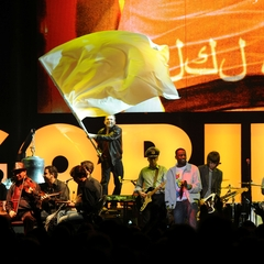 Syrian National Orchestra for Arabic Music with Damon Albarn