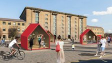 DesignJunction - Custom exhibition spaces in Granary Square by Ruth Ward, E Jarvis