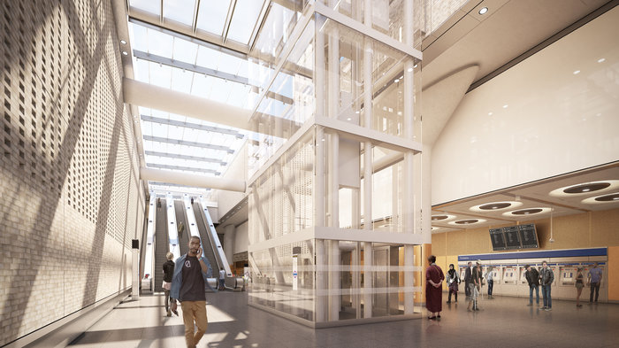 Paddington Station - proposed ticket hall, 2018