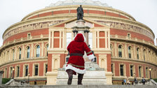 Father Christmas at the Royal Albert Hall