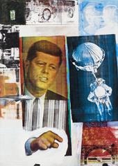 Robert Rauschenberg - Retroactive II, 1963 by MCA Chicago