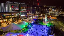 London Designer Outlet Ice Rink