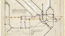 Maps and the 20th Century: Drawing the Line - (c) TFL