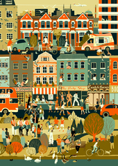 Prize for Illustration 2017: Sounds of the City by Eliza Southwood, Bronze Winner, Prize for Illustration 2015