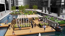Chelsea Fringe - Floating Pocket Park, Paddington Basin
