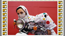 Hassan Hajjaj: La Caravane - Rider, photograph by (c) Hassan Hajjaj, courtesy of the artist and Vigo Gallery