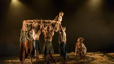 Sadler's Wells Family Weekend - Photo: Bill Cooper. Dancers Gavin Coward and Natalie Trewinnard & Ensemble
