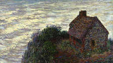 The Credit Suisse Exhibition: Monet & Architecture - Claude Monet, The Douanier's Cottage, 1882 © President and Fellows of Harvard College, Cambridge, Massachusetts