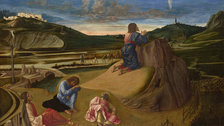 Mantegna and Bellini - Giovanni Bellini, The Agony in the Garden © The National Gallery, London