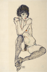 Klimt / Schiele - Egon Schiele, Seated Female Nude