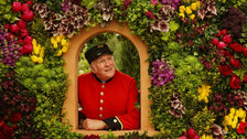 May in London 2018 - Chelsea Pensioner Ray Pearson, RHS Chelsea Flower Show, 2017