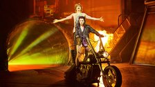 Bat Out Of Hell - The Musical - Andrew Polec stars as Strat, Christina Bennington as Raven by Specular