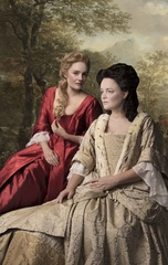 Queen Anne - Romola Garai and Emma Cunniffe. Photo: Darren Bell